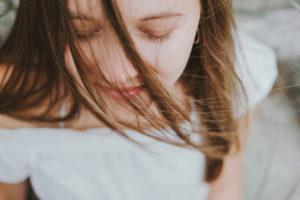 Ontspannen meisje meditatie